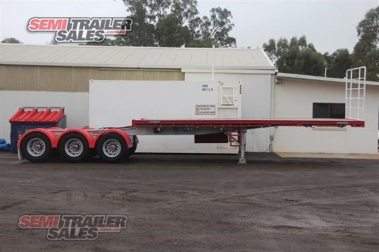 2018 Maxitrans 12 PALLET FLAT TOP SEMI A TRAILER Semi Trailer Sales - Trailers for Sale