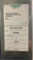 (Qty - 6) Siemens Electrical Boxes-