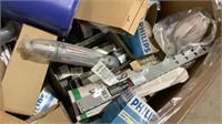 Assorted Light Bulbs & Fixtures-