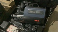 Video Cameras and Cassette Recorder-