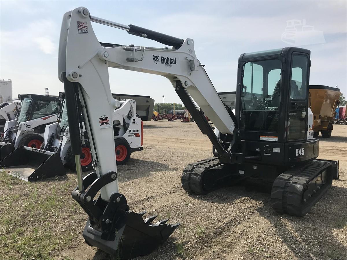 2018 BOBCAT E45 For Sale In Huron, South Dakota   www