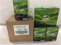 KEUREG 24PC/BOX K-CUPS COFFEE PODS, 4 BOXES