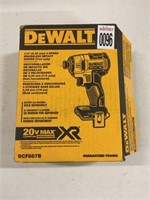 DEWALT 3-SPEED BRUSHLESS IMPACT DRIVER TOOL ONLY