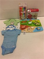 ASSORTED BABY ITEMS