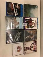 ASSORTED DVDS/ CDS