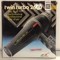 TWIN TURBO 2600 HAIR DRYER