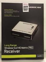 LONG RANGE WIRELESS 5X2 HD MATRIX RECEIVER PRO