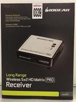 LONG RANGE WIRELESS 5X2 HD MATRIX RECEIVER