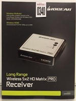 LONG RANGE WIRELESS 5X2 HD MATRIX RECEIVER