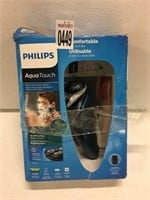 PHILIPS AQUATOUCH SHAVER(USED)
