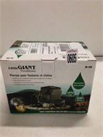 LITTLE GIANT POND WORKS STATUARY FOUNTAIN PUMP