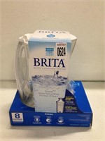 BRITA WATER FILTRATION SYSTEM PITCHER 8 CUPS