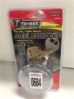 TRIMAX STEEL PADLOCKS