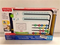 FISHER PRICE COUNT AND ADD MATH CENTER