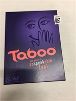 TABOO ADULT GAME
