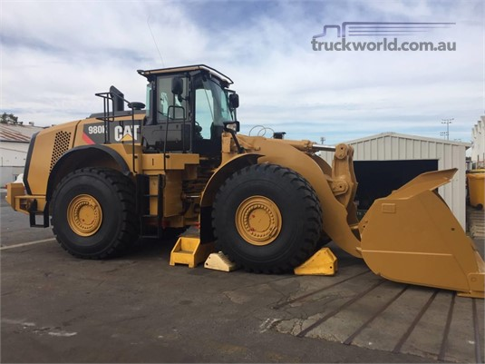 2012 Caterpillar 980K Heavy Machinery for Sale