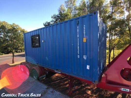 2013 Shipping Container 20 Foot Carroll Truck Sales Queensland - Transportable Buildings for Sale