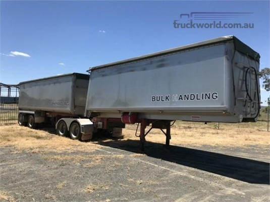 2002 Lusty Ems Tipper Trailer - Trailers for Sale