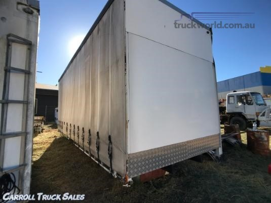 0 Truck Body Tautliner / Curtainsider Carroll Truck Sales Queensland - Truck Bodies for Sale