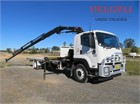 2012 Isuzu FVR1000 Crane Truck