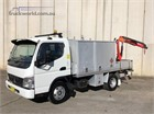 Fuso Canter 2.0 Crane Truck|Service Vehicle