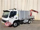 2007 Mitsubishi Canter 2.0 Crane Truck