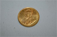 1912 Canada Ten Dollar GOLD Coin
