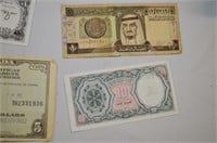 War Saving Certificate and Arab Paper Currency