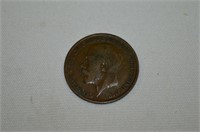 1921 George V One Penny