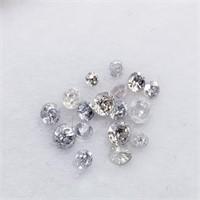 Genuine Loose Diamonds(0.3ct) (6 - JT165)   (D2)