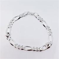 Silver Men'S (8.5 Inches) (16G)  Bracelet (32 -
