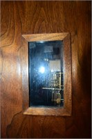 "Clock with Pendulum 81"" Tall"
