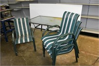 Patio Table with (4) Chairs