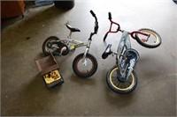 (2) Kids Bikes (Imperfect) & Dump Truck