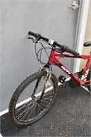 """Huffy Red Bike 24"""" Wheels"""