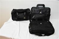 (2) Computer Bags & Duffel Bag