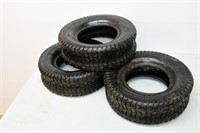 (3) Lawn Tractor Tires 16x5-8