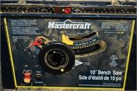 """Mastercraft 10"""" Bench Saw"""