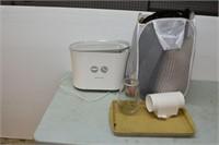 Honeywell Humidifier, Laundry Basket, Pillows, etc