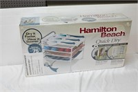 Hamilton Beach Quick Dry Shelf with Fan