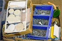 (4) Boxes of Assorted Hardware