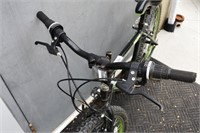 """Ozark Trail Black & Green Bike 26"""""""