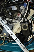 Group of Hardware, Cables & Rags