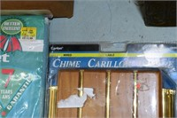 Ironing Board Covers, Tin Box, etc.