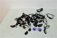 Assortment of Sunglasses & Safety Glasses