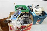 (3) Boxes of Assorted Plumbing Items