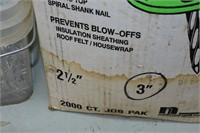 Spiral Plasti-Top Nails & Roofing Nails