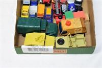 Tray of Toy Cars & Trucks