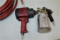 Air Line, Paint Gun, Air Impact Wrench