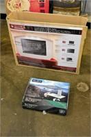 TV Audio Mount Sound Bar System & Wall Shelf